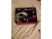 Z97 MSI Gaming 5 ATX MotherBoard (NEW)