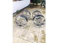 audi 20inch rs6 alloy wheels quick sale £350