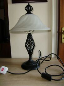 Lamp, bedside / table / conservatory / hall lamp by QC, great condition