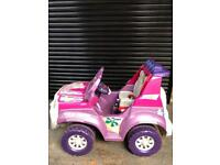 Children's Battery Powered 2 Seater Jeep