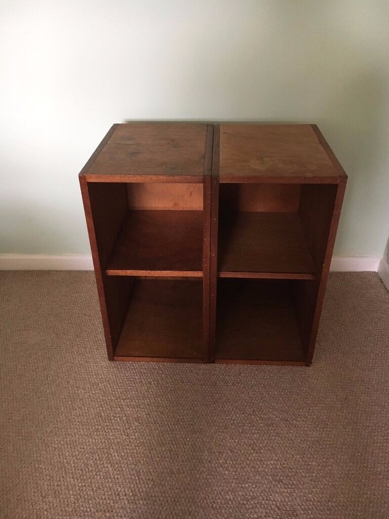 Oak hand-made storage units