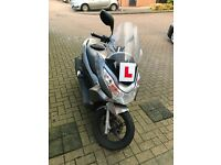 For Sale: 2010 Honda PCX 125. Silver. In good condition, very comfortable.