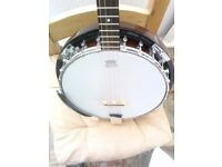 Countryman 4 string 19 fret banjo