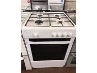 60CM WHITE STATESMANS GAS COOKER
