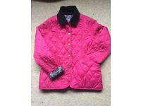 Barbour girls coat