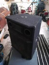 Ross PA cabinet with Rock Factory/Fane 15 inch speaker