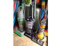 2 x Dyson vacuum cleaners and 1 x Morphy Richards Spares or Repair