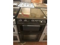 55CM BROWN GAS COOKER