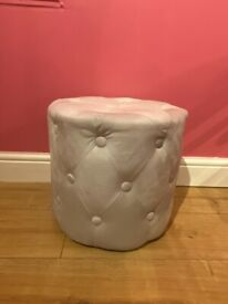 grey oyster button stool