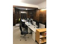 Desk space to rent on an all-inclusive basis