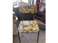 Kids minion chair