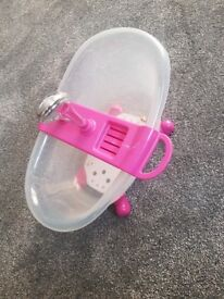 Baby bath/shower toy for a little doll/ dolly