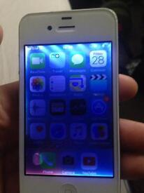 iPhone 4s in white 8gb