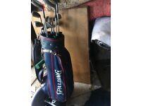 golf club in bag