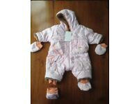 NEW Catimini one piece (with labels) size 1 month