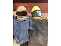 Clemco Sandblasting Helmets