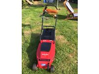 Lovely mountfield electric lawnmover,