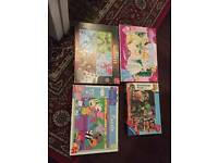 Set of 4 Kids Puzzles