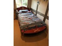 Child's Pirate Bed - Full Size Single