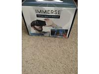 Immerse virtual reality headset for smartphones