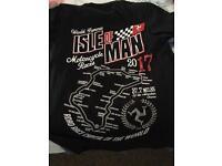 Motorbike T-shirts. Bsb. Isle of Man. New