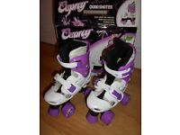 Osprey Quadskates Roller boots Size 13 - 3 **AS NEW, NEVER USED**