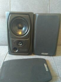 Mission 73 Speakers (Spares or Repair)