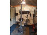 multi gym/steel weights