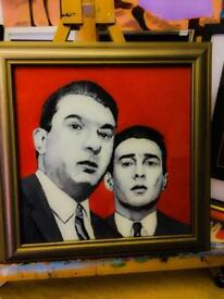 Kray Twins Painting