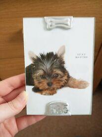 Dog theme photo frame
