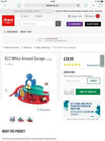 Early Learning Centre Whizz World Garage