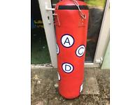 Heavy duty boxing punch bag