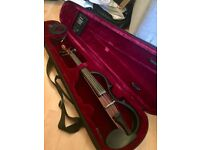 Yamaha Silent Electric Violin SV150 Brown with Case - Excellent conditions