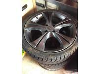 Vauxhall Astra alloys 17inch