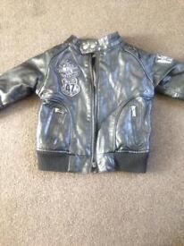 pumpkin patch leather jacket