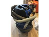 Nilfisk Aero 26 dry and wet industrial hoover vacuum cleaner.