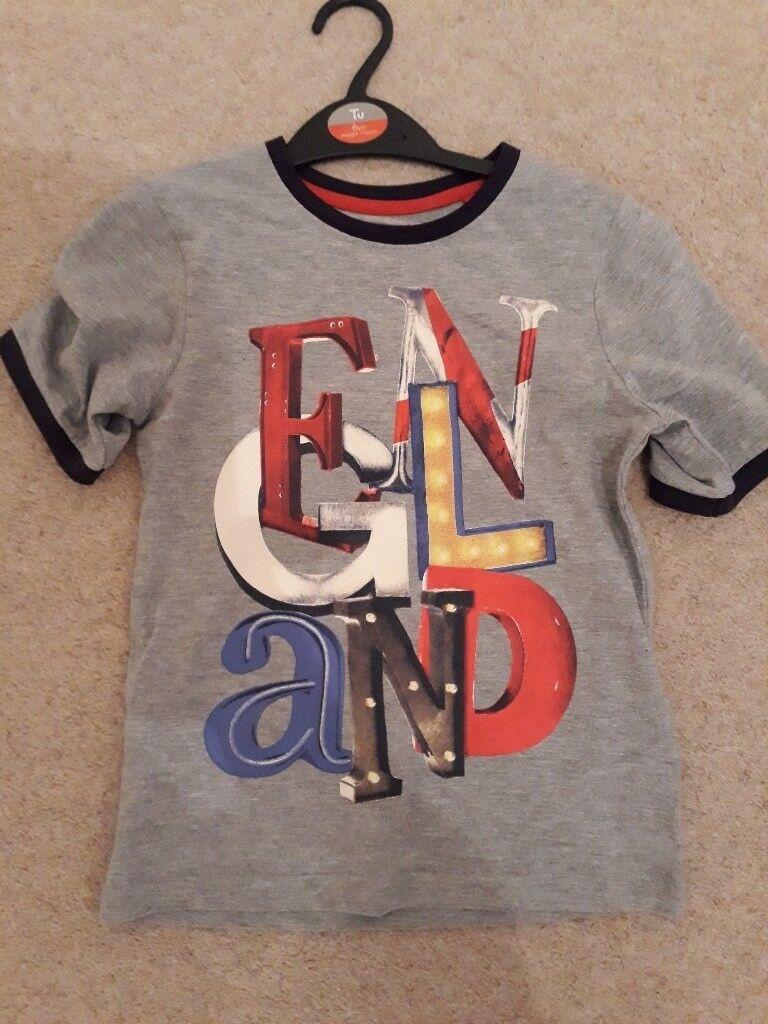 Childrens england tshirt