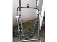 Air walker exercise machine.