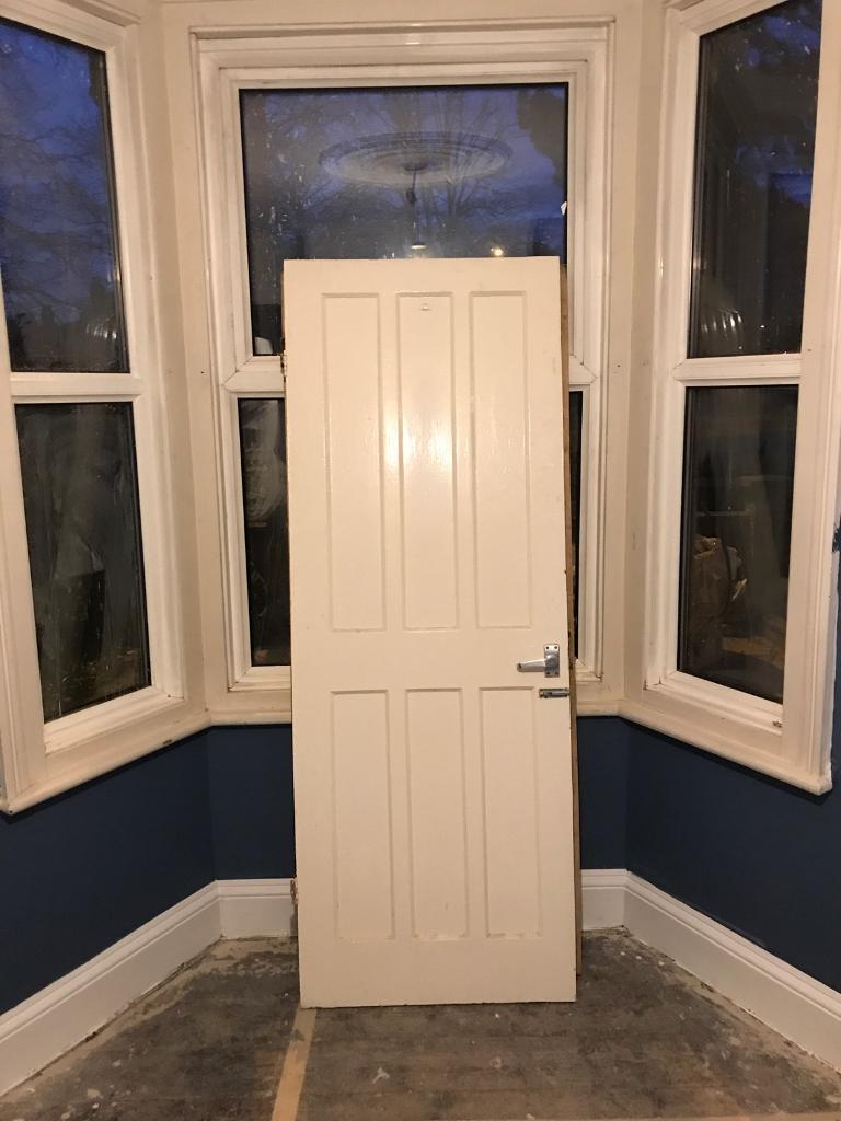 Wooden Internal Door 72cm X 193cm In Norwich Norfolk