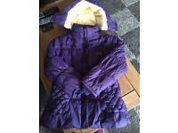 Bargain girls Barbour coat