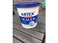 Artex Ready mixed Textured finish coating 1.3 Litres Plaster