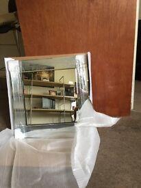 Brand new mirror 55x55x1.8cm