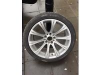 BMW M5 wheels 19 with tyres