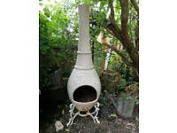 Metal chimnea