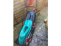 Bosch ARM 360 electric lawnmower - need gone by Monday 23rd Jan