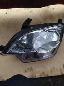 Vauxha Antara headlight passenger side 2006 to 2014