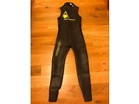 Mens Wetsuit, Aquasphere Pursuit SL, Medium, Swimming Surfing & Triathlon