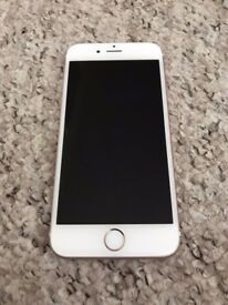 iPhone 6S 16GB Rose Gold Mint condition Vodafone network and Boxed