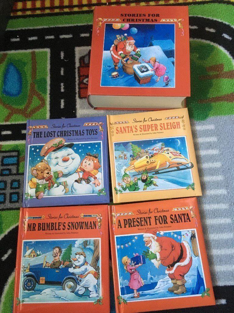 KIDS SANTA BOOK BUNDLE