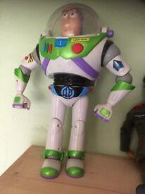 Buzz Lightyear.1ft tall.